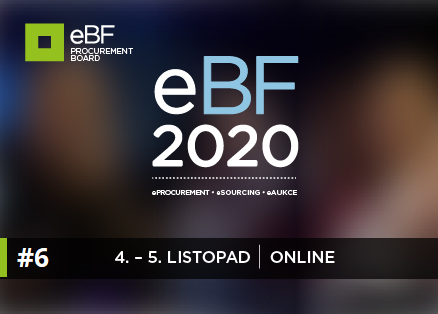 eBF 2020: source-to-contract, digitalizace v příkladech a názorech